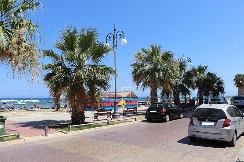 Finikoudes Strand Larnaca