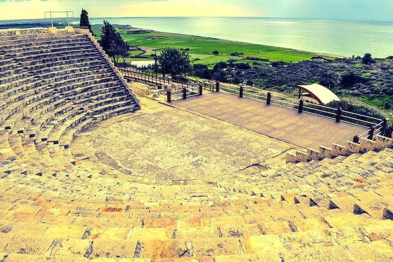 Kourion - Theater Zypern