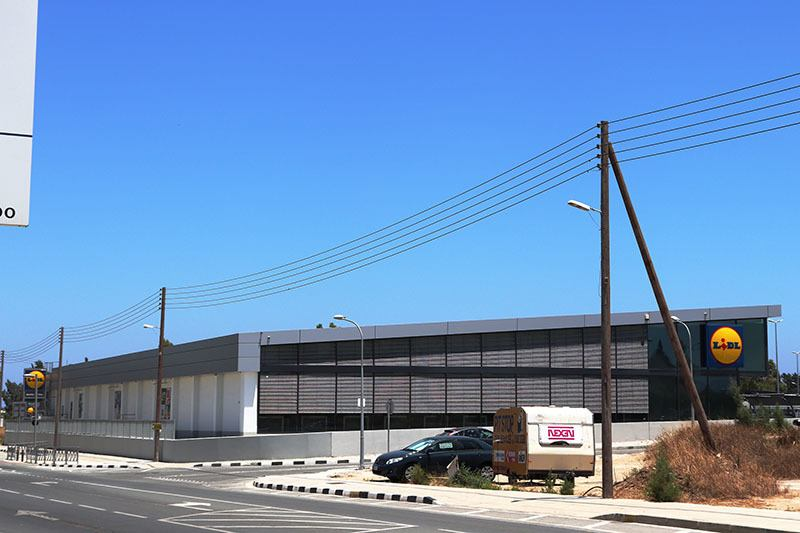 Lidl Filiale Kiti in Zypern