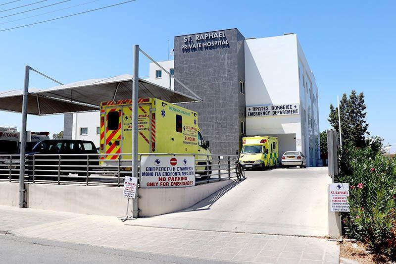 Privates Krankenhaus in Larnaca, hinter AlphaMega