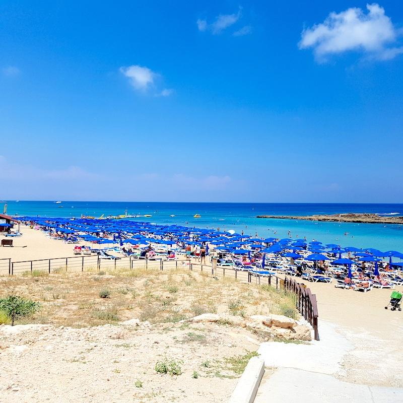 Schwimmen in Zypern an über 63 Blaue Flaggen Stränden